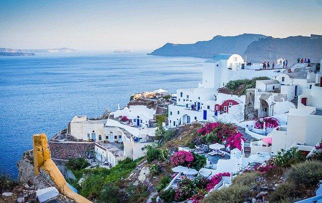 vacances en Grèce à Santorin